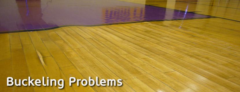 Buckling Floor Problems Gym Floor Inspectors